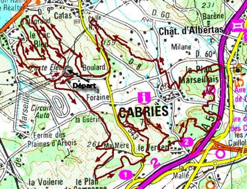 35km cabre d or 2002